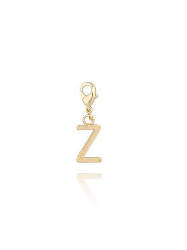 Charms złoty literką Z NAT0187
