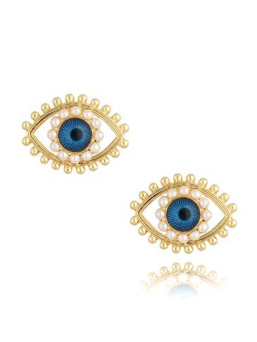 Kolczyki oczy KRG0706