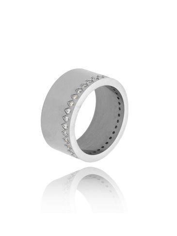 Pierścionek srebrny ze stali szlachetnej Just Silver PSA0178 rozmiar 14