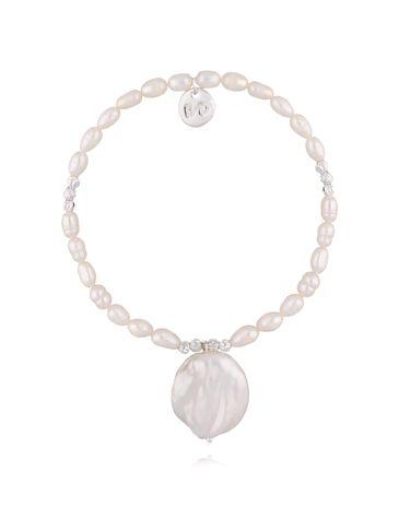 Bransoletka z perłą naturalną BPE0021