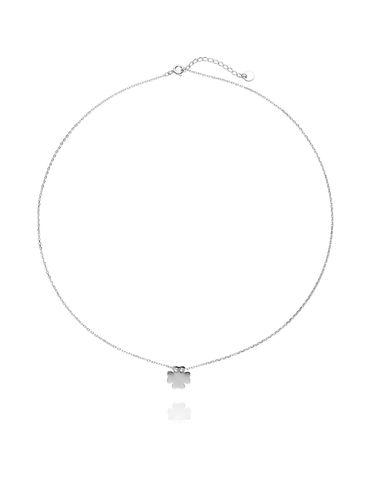Naszyjnik srebrny koniczynka NBT0006
