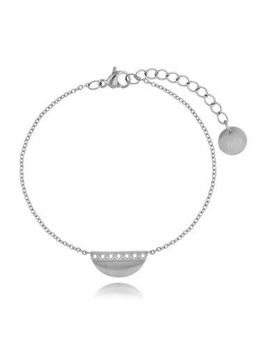 Bransoletka srebrna z zawieszką Chic BSA0166