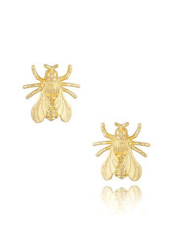 Kolczyki złote owady KMI0176
