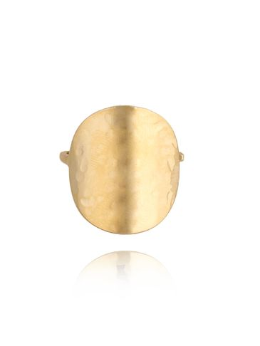 Pierścionek złoty ze stali szlachetnej PSA0119 rozmiar 15