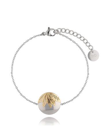 Bransoletka Silver&Gold Chic BSA0168