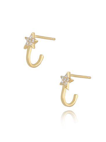 Kolczyki złote Star KFA0035