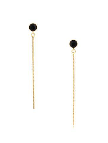 Kolczyki długie z kryształkiem Tones KRG0714