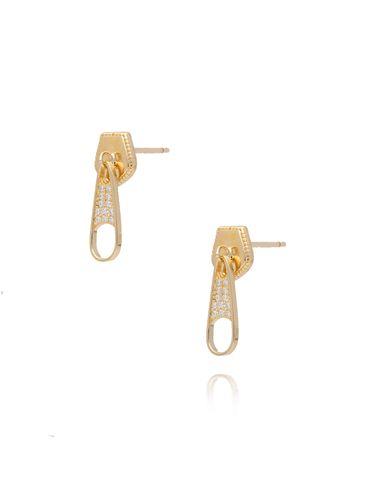 Kolczyki złoty suwak KGM0109