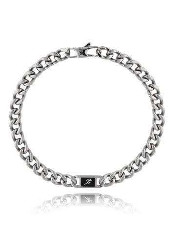 Bransoletka srebrna ze stali szlachetnej Runner BMITC0293