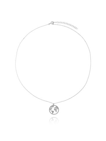 Naszyjnik srebrny  z planetą NSE0081