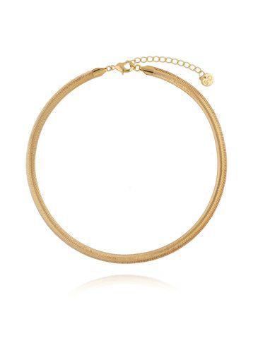 Naszyjnik żmijka złota NRG0171