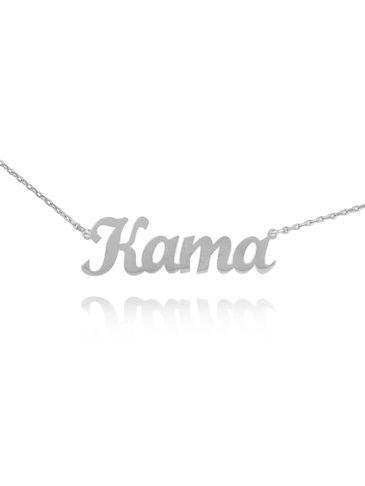 Naszyjnik srebrny KAMA NAT0136