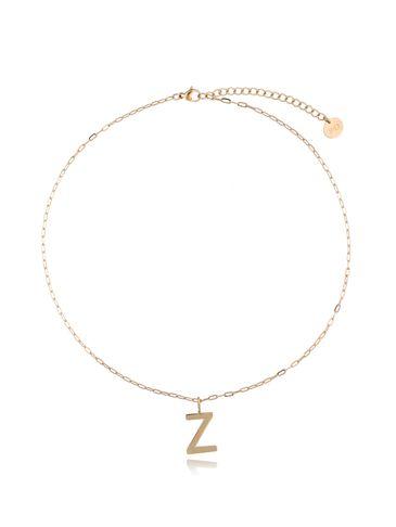 Naszyjnik złoty z literką Z NAT0215