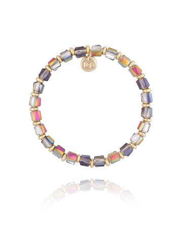 Bransoletka z połyskującymi kryształkami BBL0164