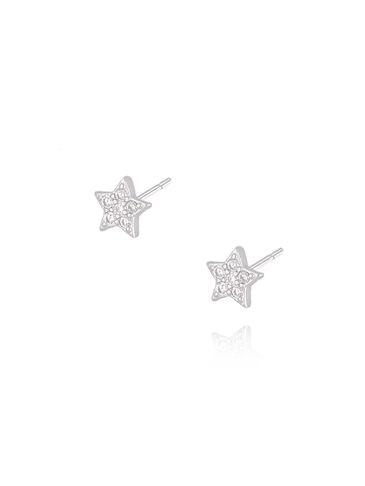 Kolczyki srebrne  gwiazdki KGM0117