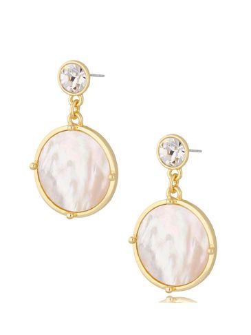 Kolczyki wiszące perłowe Bella KTO0031