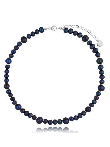 Naszyjnik z ciemnych pereł Pearls&Silver NPE0081