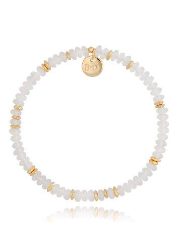 Bransoletka z kwarcami transparentno-złota Isabel BPA0128