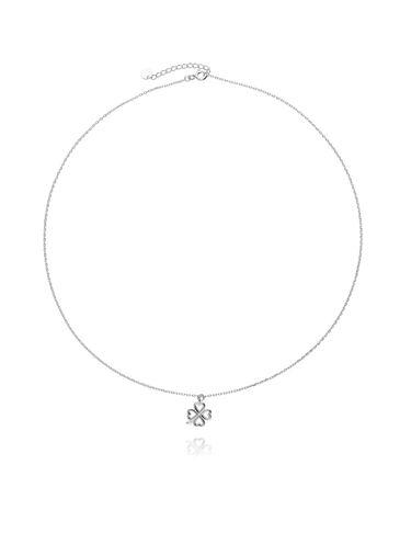 Naszyjnik srebrny koniczynka NBT0007