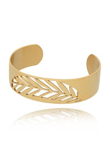 Bransoletka złota ze stali szlachetnej Stylish BSA0170