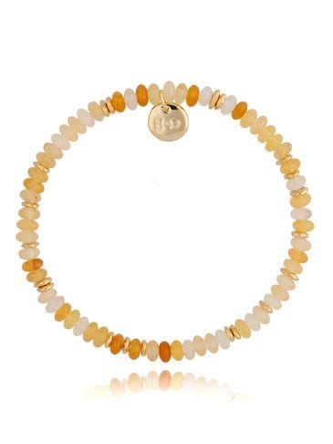 Bransoletka z cytrynami żółto-złota Isabel BPA0122