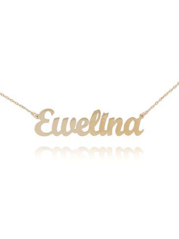 Naszyjnik srebrny pozłacany EWELINA NAT0134