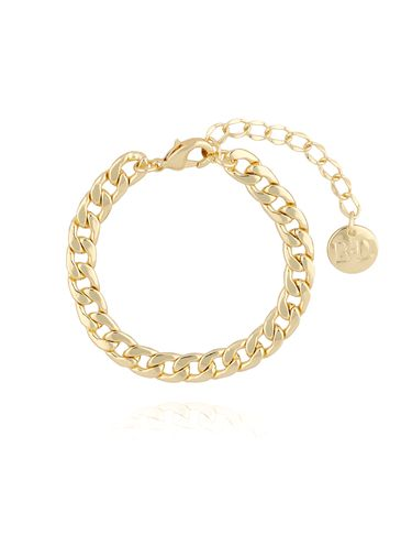 Bransoletka złoty łańcuch średni BRG0113