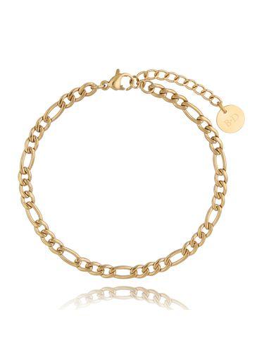 Bransoletka łańcuch złoty BSA0163