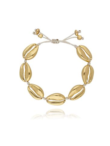 Bransoletka z muszelkami złota Ocean Vibes BOV0018