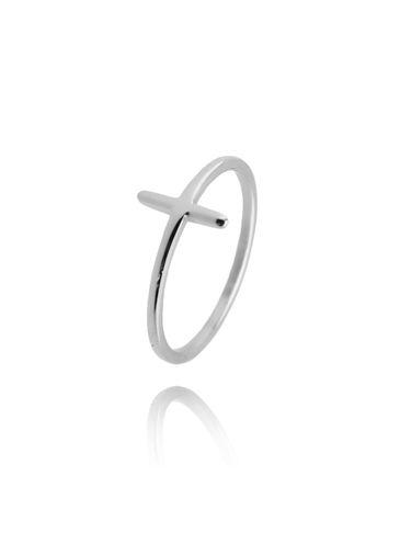 Pierścionek srebrny ze stali szlachetnej PSA0110 rozmiar 12