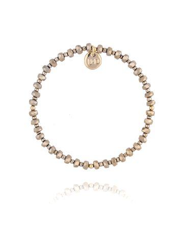 Bransoletka ze złotych kryształków BBL0184