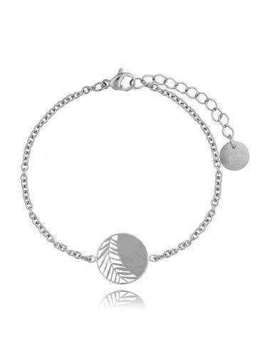 Bransoletka Silver Elegant Leaf BSA0164