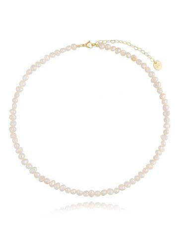 Klasyczny naszyjnik z pereł Medium Pearls NPE0076