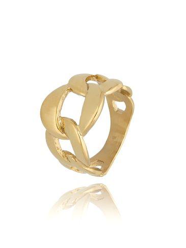 Pierścionek złoty ze stali szlachetnej Scarlett PSA0187 rozmiar 12