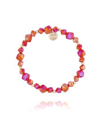 Bransoletka z czerwonymi kryształkami BBL0168