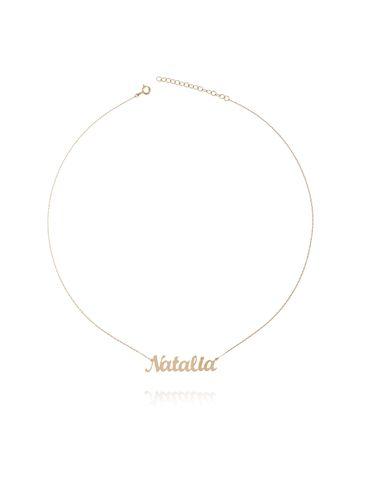 Naszyjnik srebrny pozłacany NATALIA NAT0104