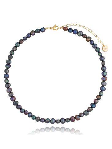 Naszyjnik z ciemnych pereł Little Dark Pearls NPE0071