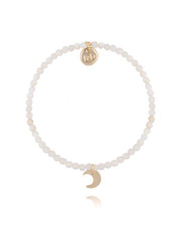 Bransoletka z kamieniem księżycowym BTW0296