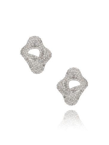 Kolczyki srebrne z cyrkoniami KSS0872
