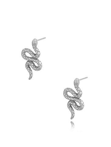 Kolczyki srebrne Snakes KSA0308