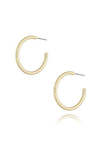 Kolczyki złote koła małe KRG0645