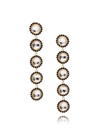 Kolczyki kryształowe z cyrkoniami KSS0775