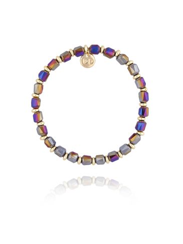 Bransoletka z połyskującymi kryształkami BBL0165