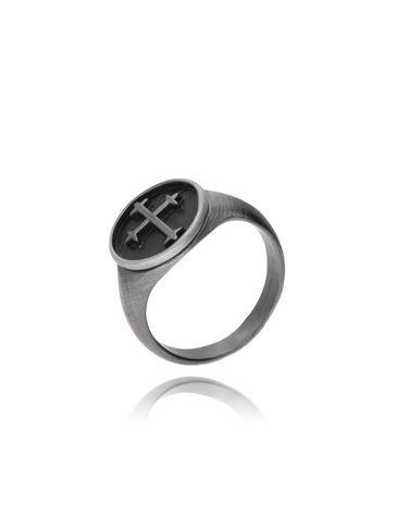 Pierścień męski z krzyżem celtyckim - stal szlachetna PMITC0001
