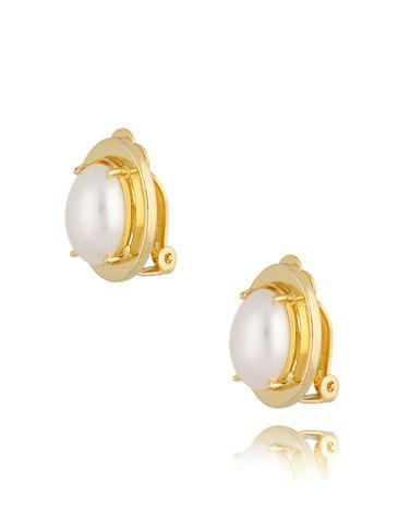Klipsy z perłami KTO0007