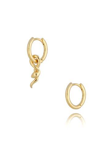 Kolczyki złote Snake KFA0043