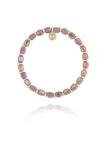 Bransoletka z wrzosowymi kryształkami BBL0163