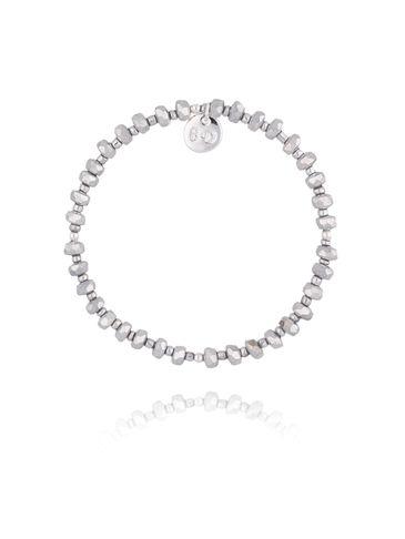Bransoletka ze srebrnych kryształków BBL0186