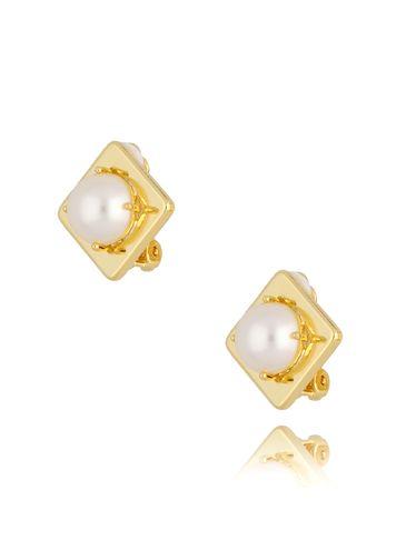 Klipsy z perłami KTO0001