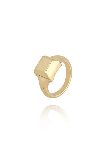 Pierścionek złoty sygnet PRG0102 rozmiar 14